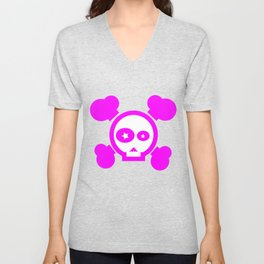 Skull Pop! Unisex V-Neck
