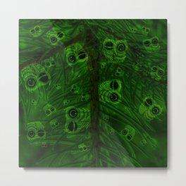 Mosaic of owls V2 Metal Print