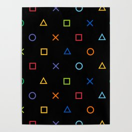 Colofrul Gamer Poster