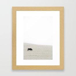 foggy breakfast Framed Art Print