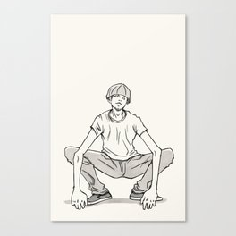 Squat Canvas Print