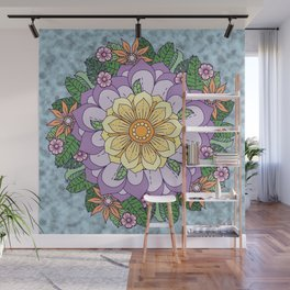 [Wreath] Waiting for Spring Wall Mural