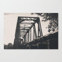 Abandoned Railway Bridge Canvas Print