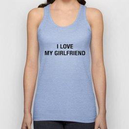 I Love It When My Girlfriend Unisex Tank Top