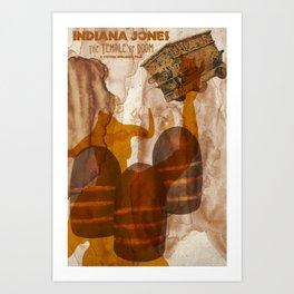 Hey, lady! You call him Dr. Jones! Art Print