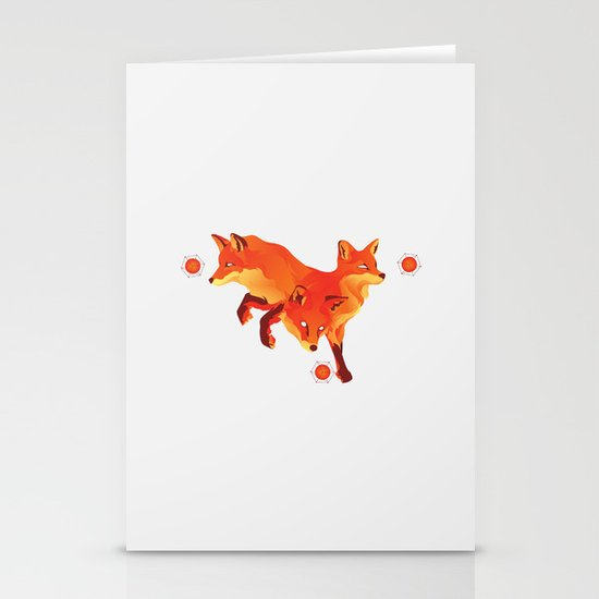 Keep the Fire Stationery Cards