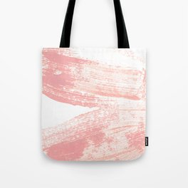 Stacked Pink Brushstrokes Tote Bag