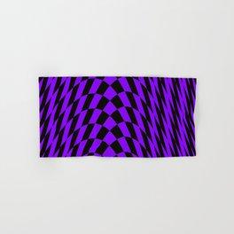 Purple checkered streak Hand & Bath Towel