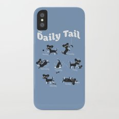 The Daily Tail Dog iPhone X Slim Case