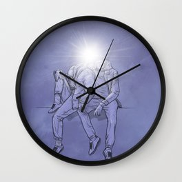 thee Enlightened: Chapter 4 - Love / Connection Wall Clock