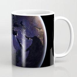 The Earth at Night 1 Coffee Mug