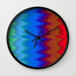 Pattern5 Wall Clock