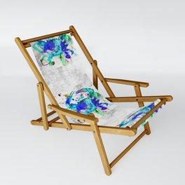 Blue Crab Sling Chair