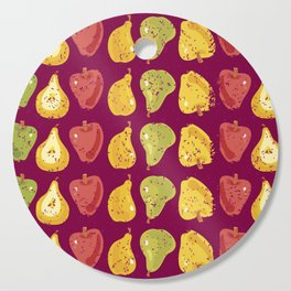 Apples & Pers Cutting Board