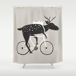 Dear Cyclist Shower Curtain
