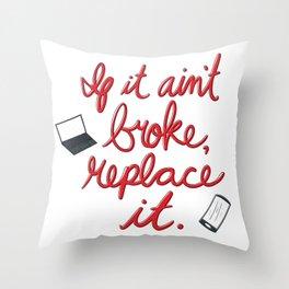 Upgrade Throw Pillow