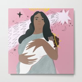 Mary Mother Metal Print