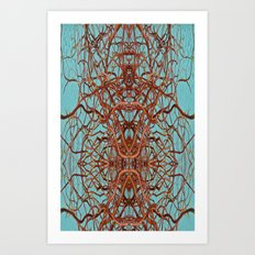 Abstract art 7 Art Print