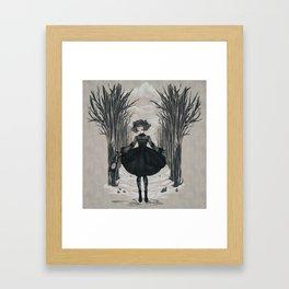 Dark Little Season Framed Art Print