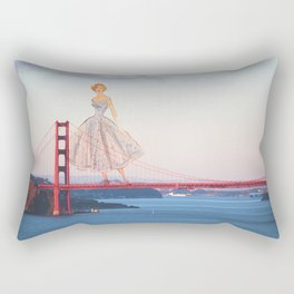 Golden Girl Rectangular Pillow