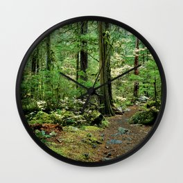 Forest Garden Wall Clock