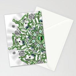 Heart opener mandala Stationery Cards