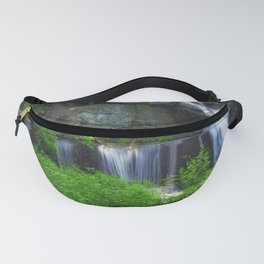 Rocky Forest Waterfall Fanny Pack