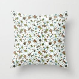 Science Fair Throw Pillow