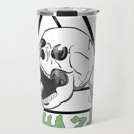 Biohazard Skull Travel Mug