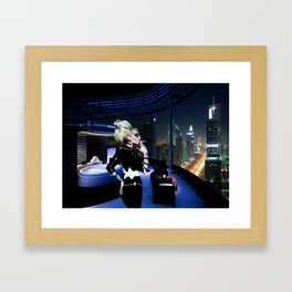 The Answer is Tomorrow Framed Art Print