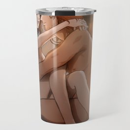 Jamie and Claire Travel Mug