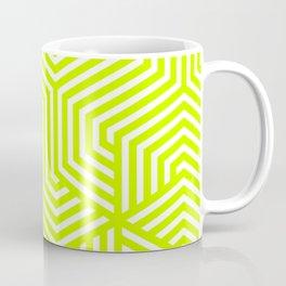Electric lime - green - Minimal Vector Seamless Pattern Coffee Mug