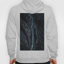 Abstract River in Iceland - Landscape Photography Hoody