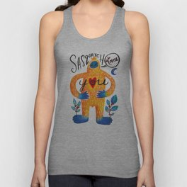 Sasquatch Loves You Unisex Tank Top