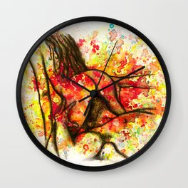 Hot Breakfast Wall Clock