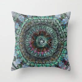Secrets Of The Mayan Orbs Throw Pillow