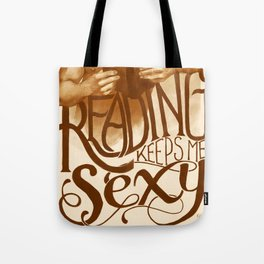 Sexy Reading Tote Bag
