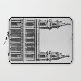 Saint-Sulpice, Grand Portail Laptop Sleeve
