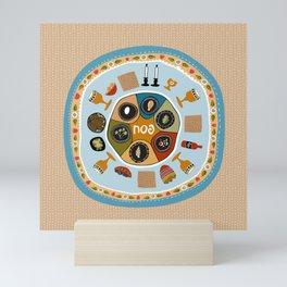 Passover Table Mini Art Print