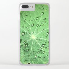 Dewy Morning Clear iPhone Case