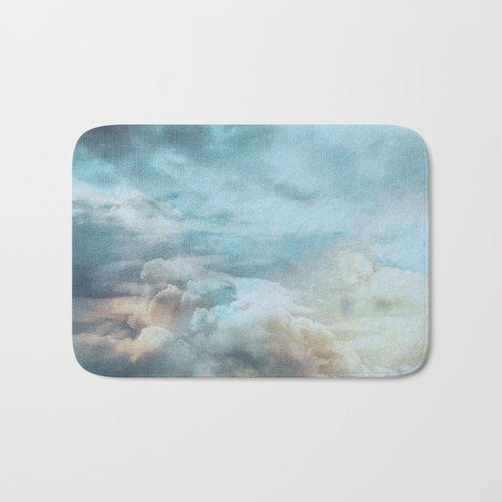 Vintage sky Bath Mat