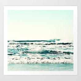 Beach 3 Art Print