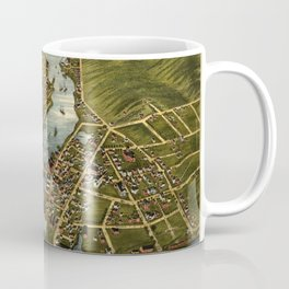 Map Of Mystic 1879 Coffee Mug