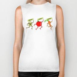 Fruit and Vegetables Biker Tank