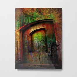 abstract art doors Metal Print