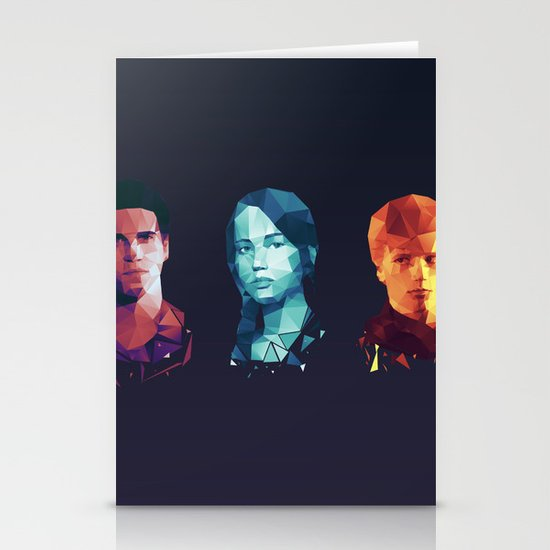 Hunger Games 3 Stationery Cards