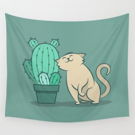 Catcus Wall Tapestry