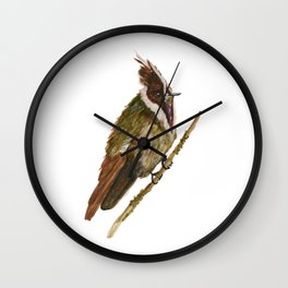 Buffy Helmetcrest Wall Clock