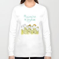 moonrise kingdom Long Sleeve T-shirts featuring Moonrise Kingdom by Elly Liyana