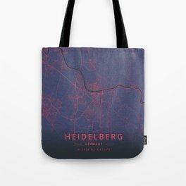 Heidelberg, Germany - Neon Tote Bag